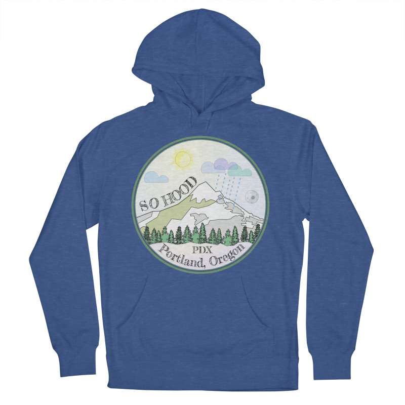 Mt. Hood [Day] Men's Pullover Hoody by Northern Limit