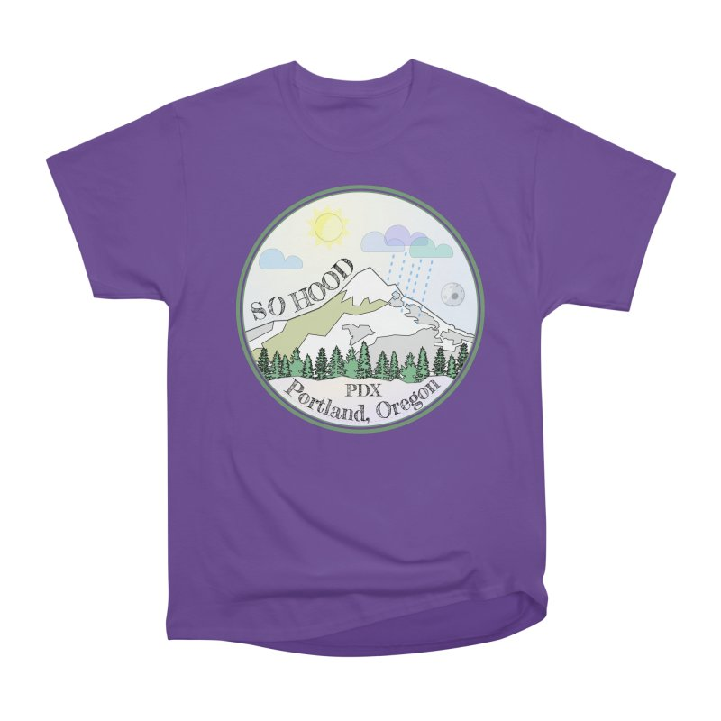 Mt. Hood [Day] Women's Heavyweight Unisex T-Shirt by Northern Limit