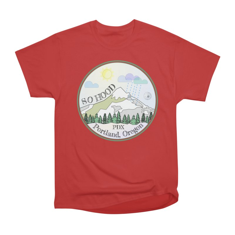Mt. Hood [Day] Women's Classic Unisex T-Shirt by Northern Limit