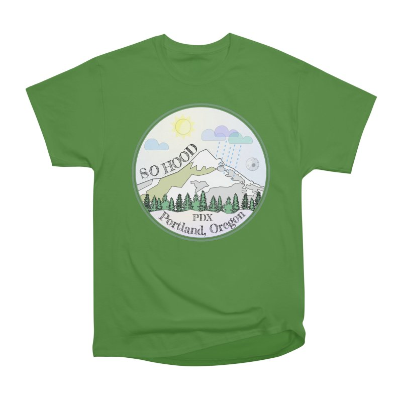 Mt. Hood [Day] Men's Classic T-Shirt by Northern Limit