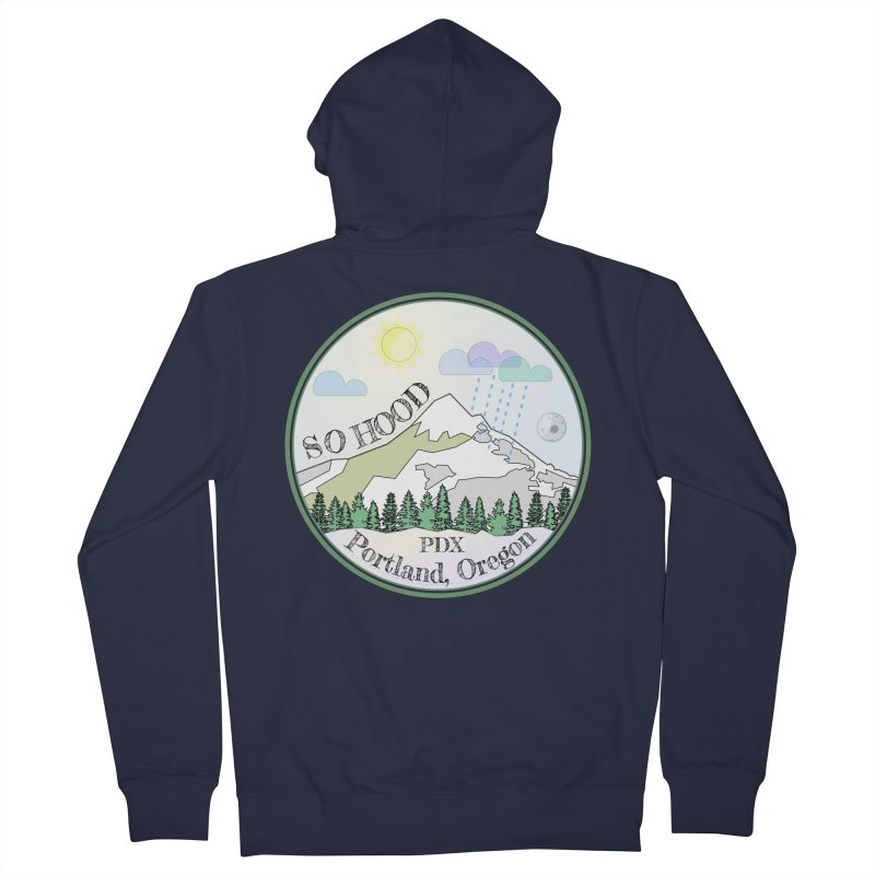 Mt. Hood [Day] Women's Zip-Up Hoody by Northern Limit