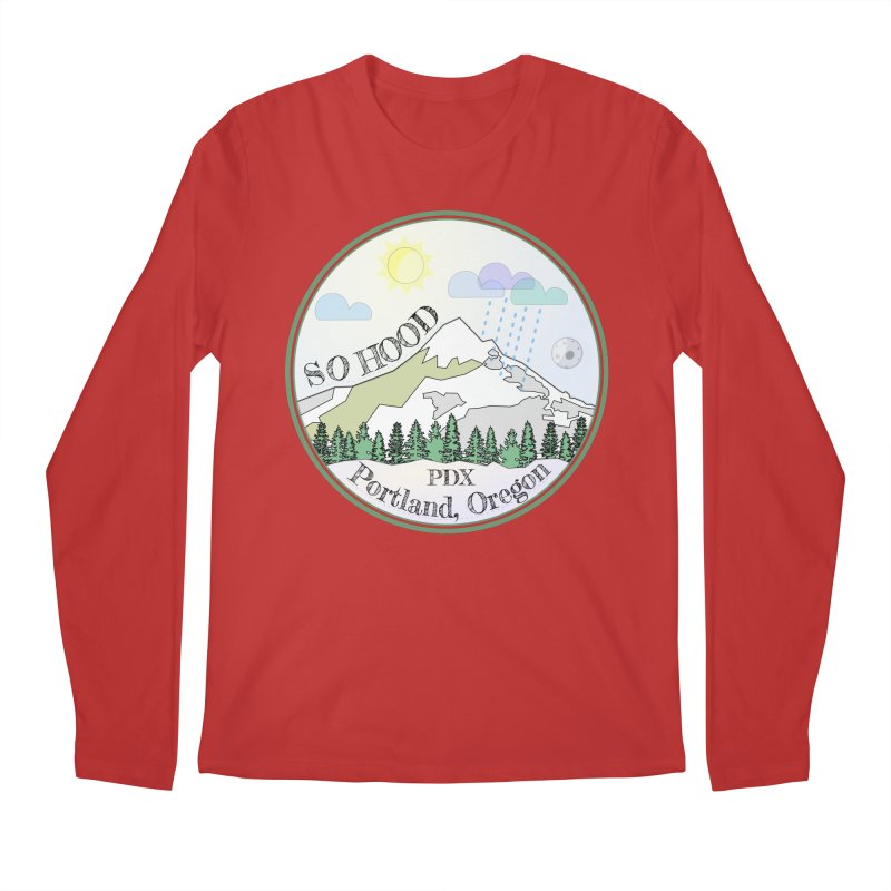 Mt. Hood [Day] Men's Longsleeve T-Shirt by Northern Limit