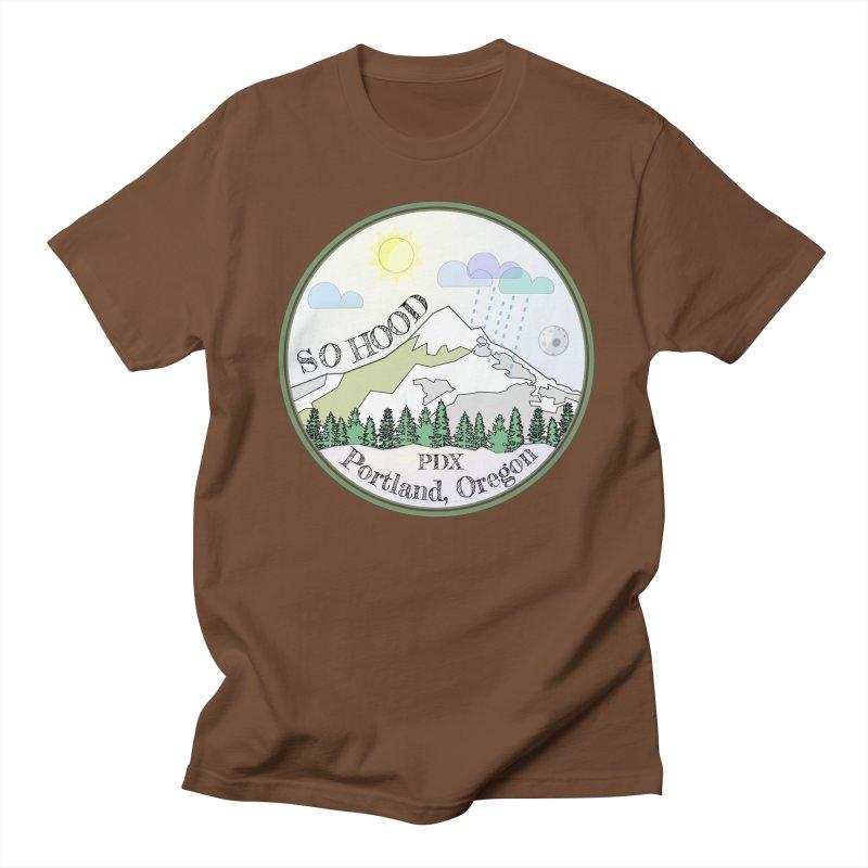 Mt. Hood [Day] Men's Regular T-Shirt by Northern Limit