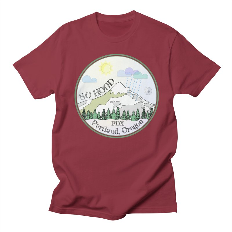 Mt. Hood [Day] Women's Regular Unisex T-Shirt by Northern Limit