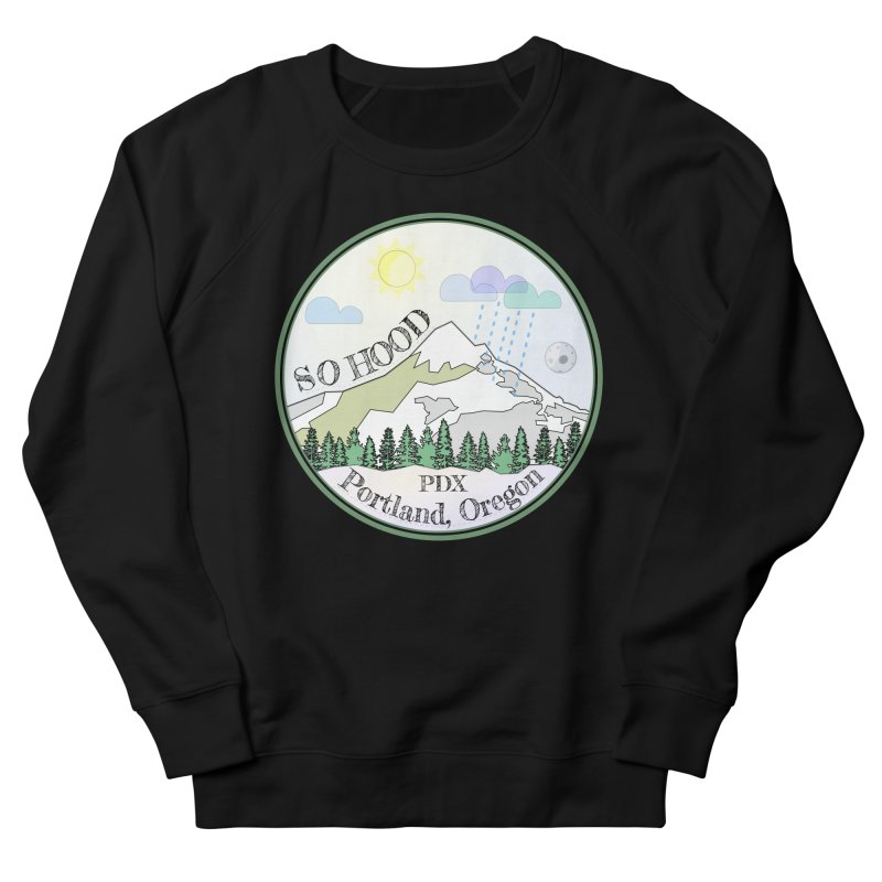 Mt. Hood [Day] Women's French Terry Sweatshirt by Northern Limit