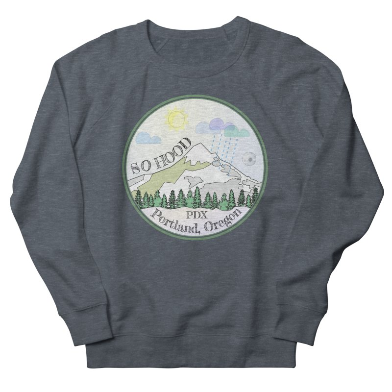 Mt. Hood [Day] Men's French Terry Sweatshirt by Northern Limit