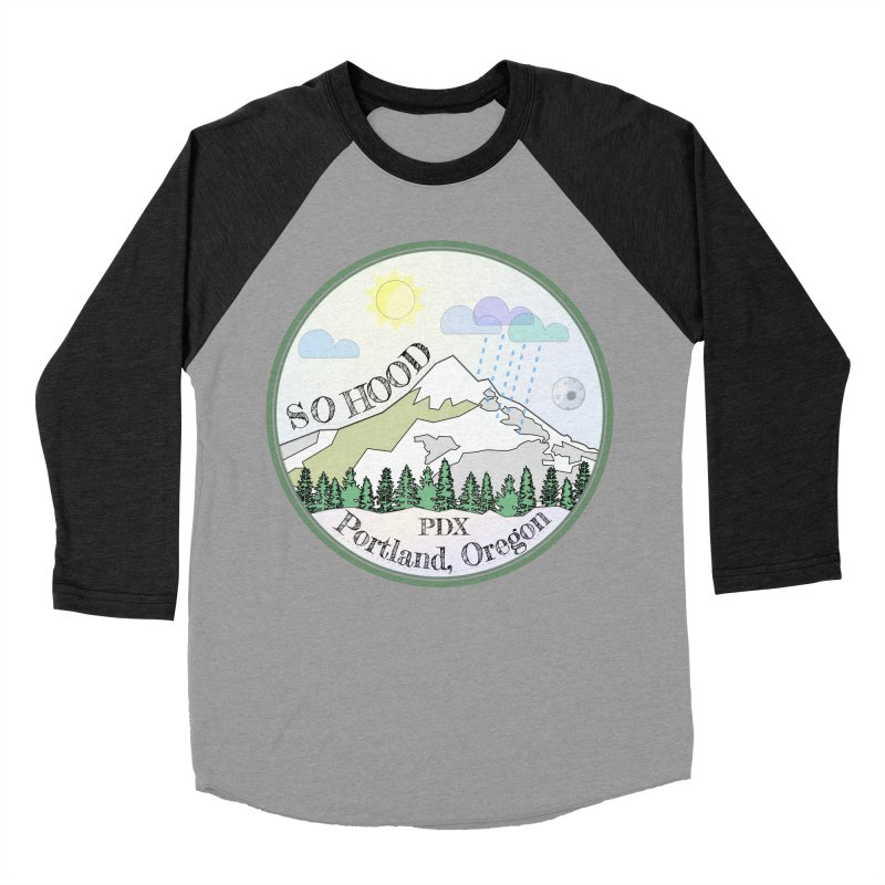 Mt. Hood [Day] Women's Baseball Triblend Longsleeve T-Shirt by Northern Limit