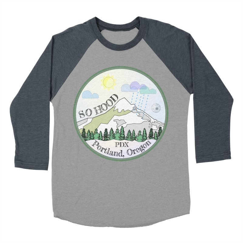 Mt. Hood [Day] Women's Baseball Triblend T-Shirt by Northern Limit