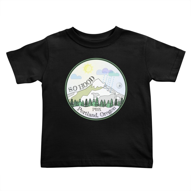 Mt. Hood [Day] Kids Toddler T-Shirt by Northern Limit
