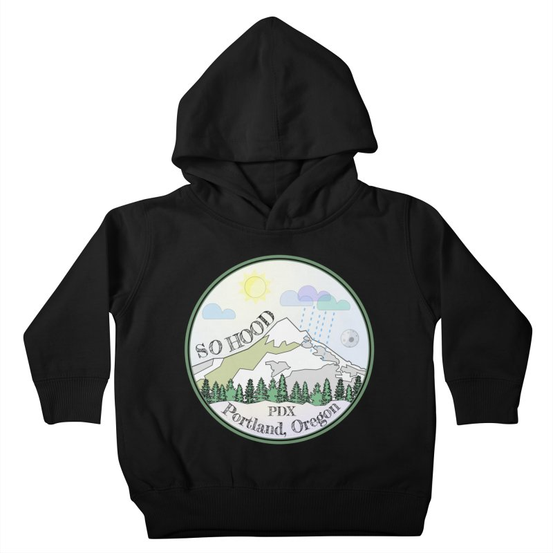 Mt. Hood [Day] Kids Toddler Pullover Hoody by Northern Limit