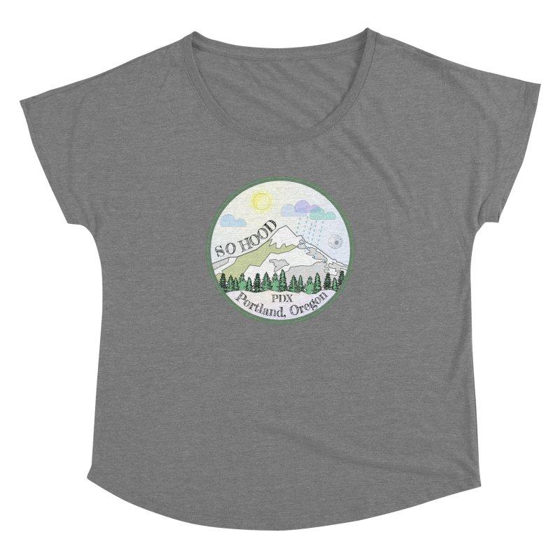 Mt. Hood [Day] Women's Dolman by Northern Limit