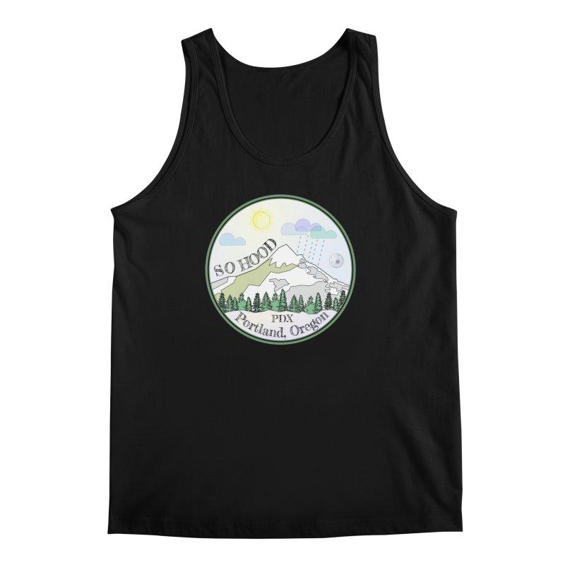 Mt. Hood [Day] Men's Regular Tank by Northern Limit
