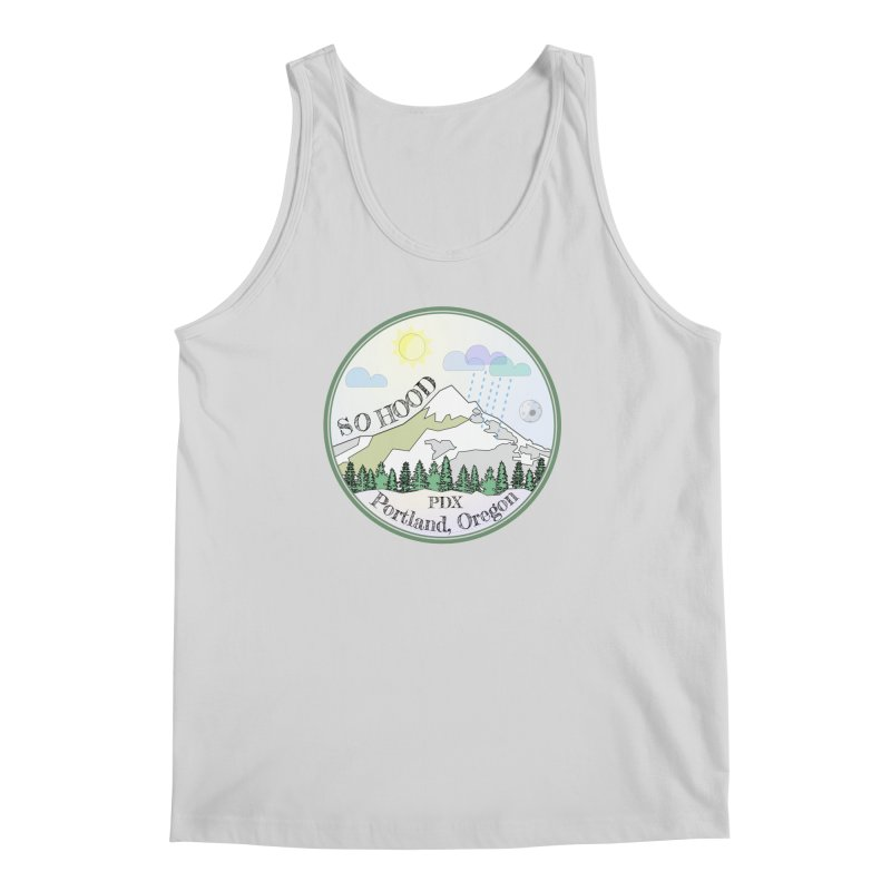 Mt. Hood [Day] Men's Tank by Northern Limit