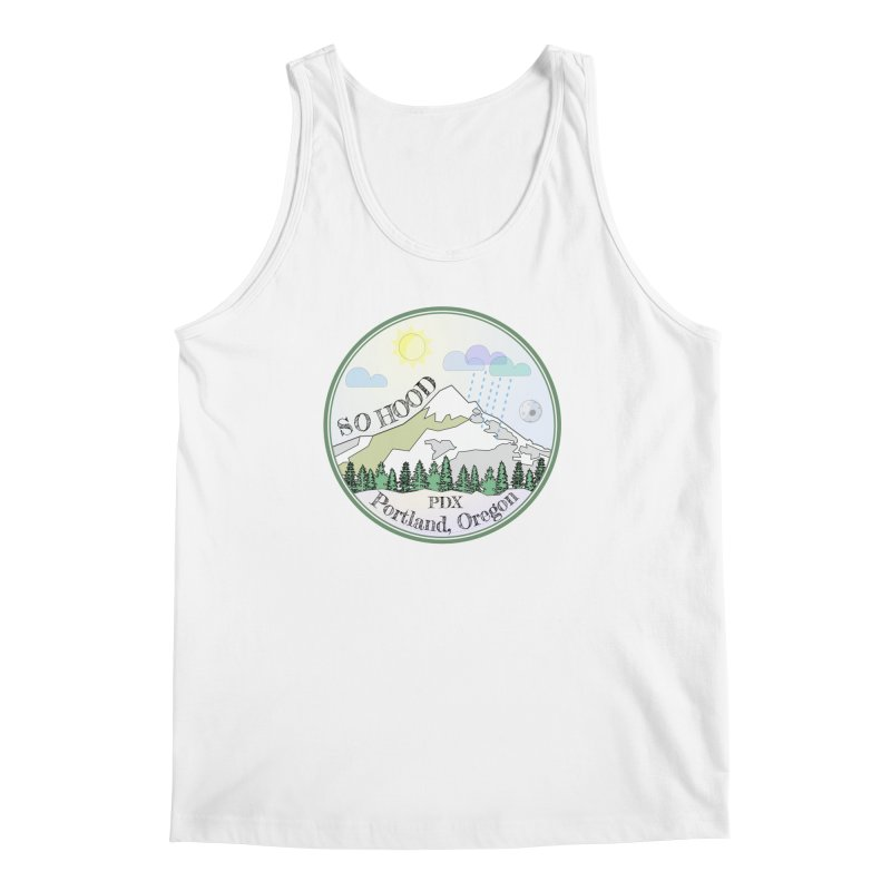 Mt. Hood [Day] Men's Regular Tank by Northern Limit