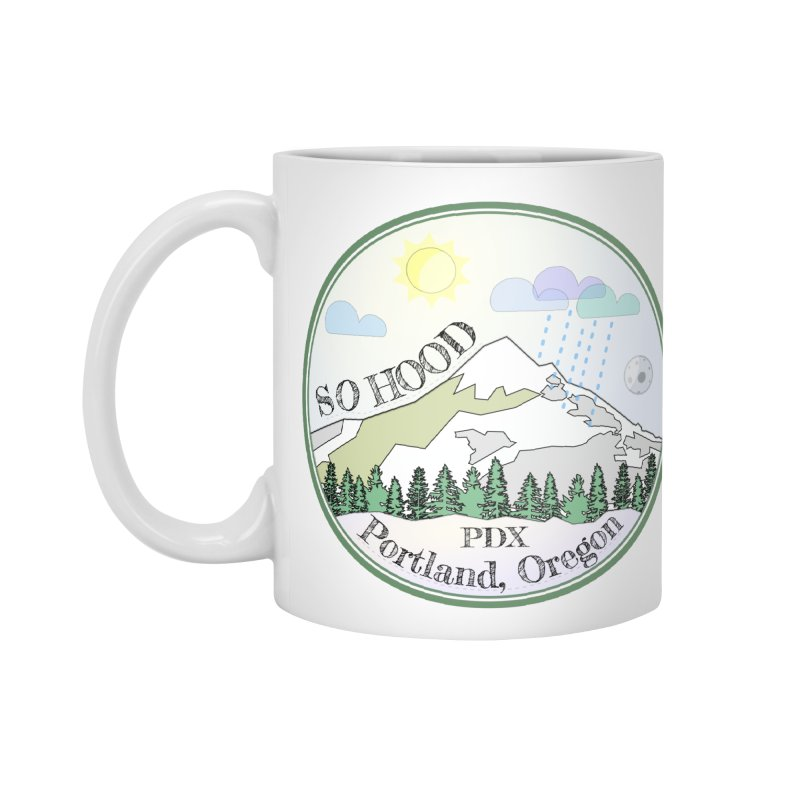 Mt. Hood [Day] Accessories Mug by Northern Limit