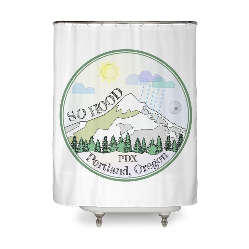 Mt. Hood [Day] Home Shower Curtain by Northern Limit