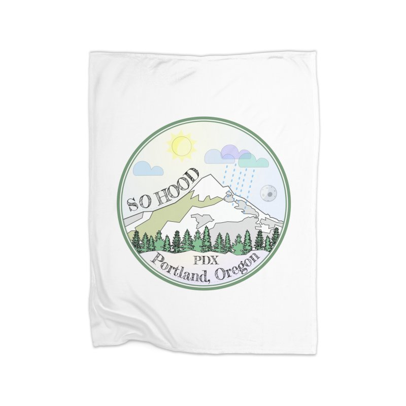 Mt. Hood [Day] Home Blanket by Northern Limit
