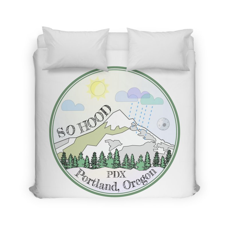 Mt. Hood [Day] Home Duvet by Northern Limit