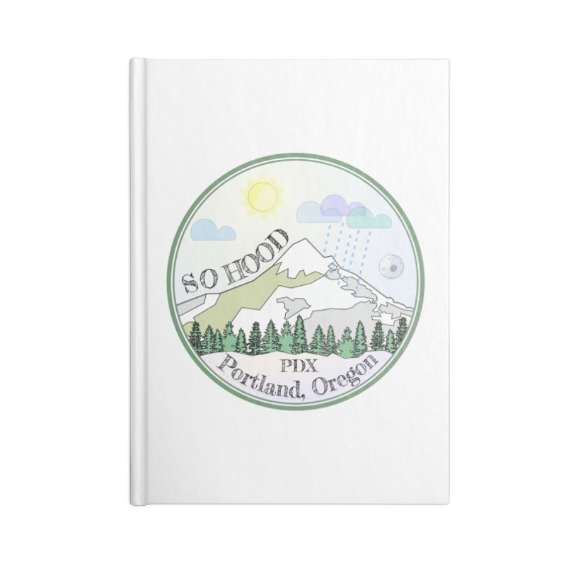 Mt. Hood [Day] Accessories Notebook by Northern Limit