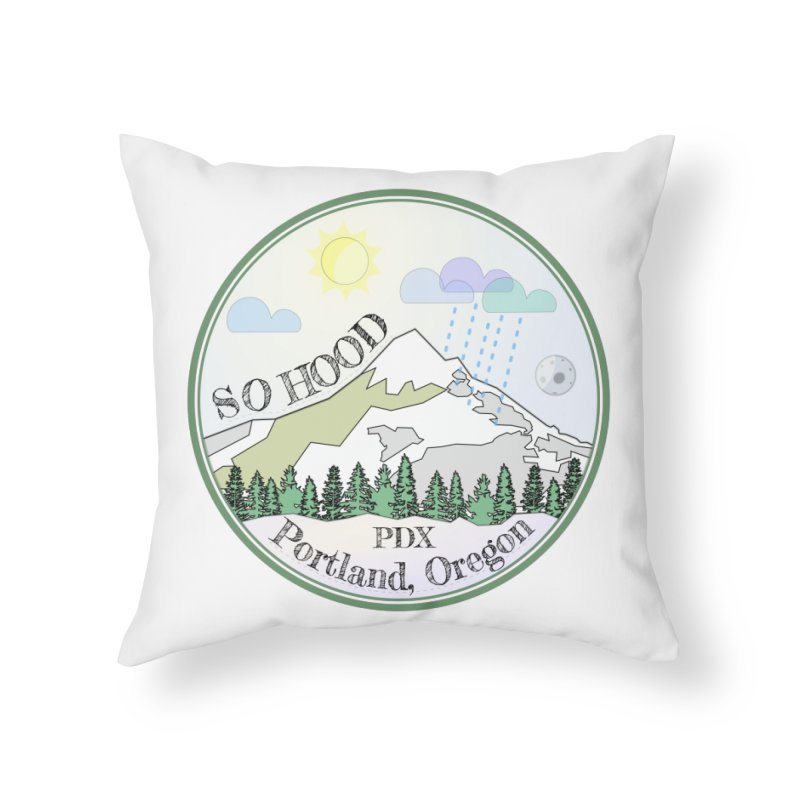 Mt. Hood [Day] Home Throw Pillow by Northern Limit