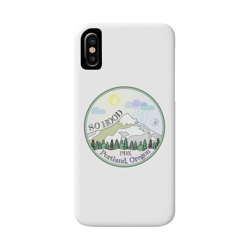 Mt. Hood [Day] Accessories Phone Case by Northern Limit