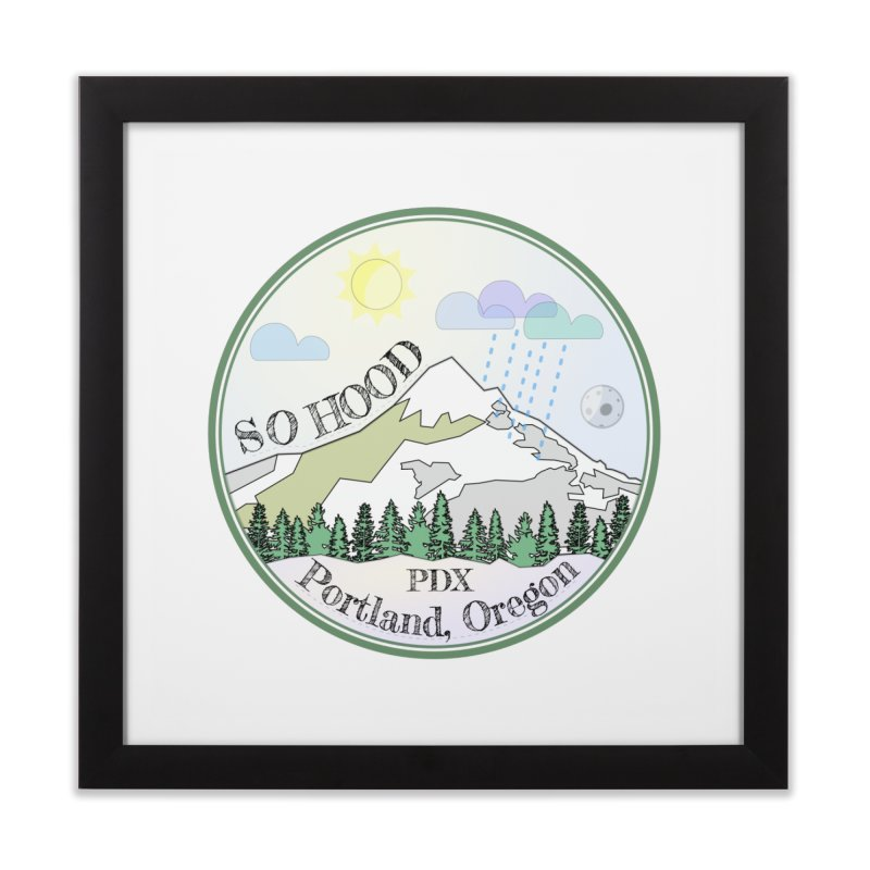 Mt. Hood [Day] Home Framed Fine Art Print by Northern Limit