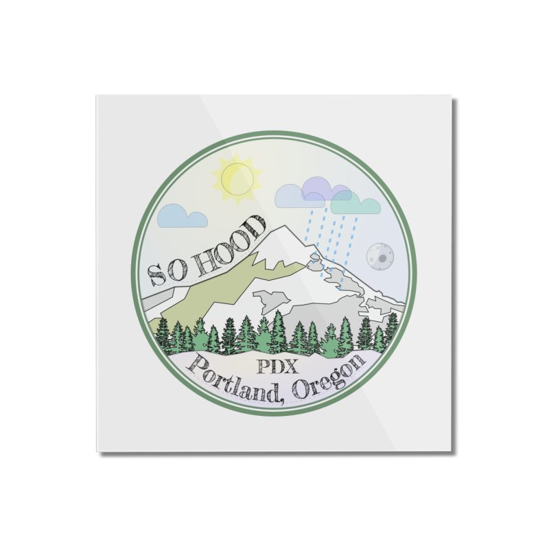 Mt. Hood [Day] Home Mounted Acrylic Print by Northern Limit
