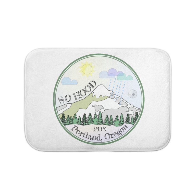 Mt. Hood [Day] Home Bath Mat by Northern Limit