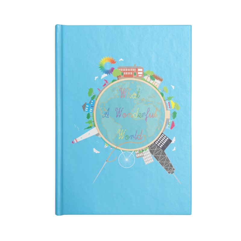 What A Wonderful World Accessories Notebook by Chiaravalle Montessori Spirit Shop