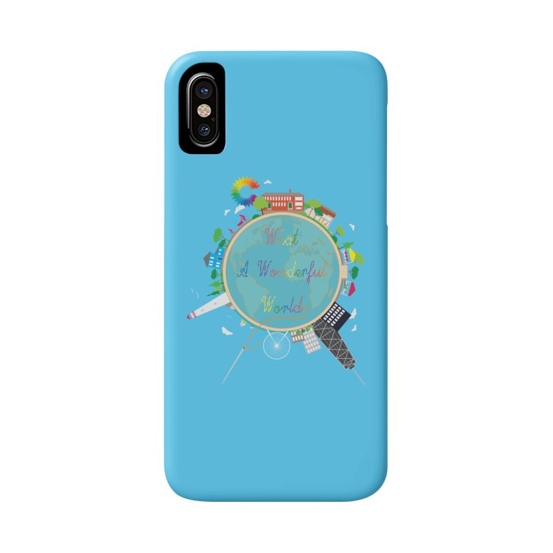 What A Wonderful World Accessories Phone Case by Chiaravalle Montessori Spirit Shop