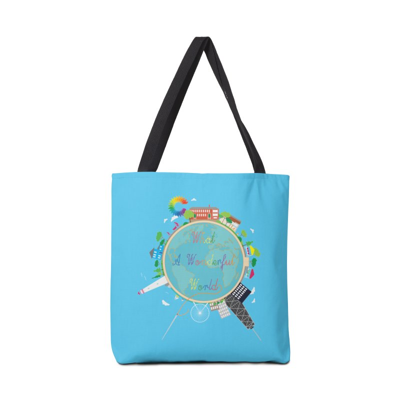 What A Wonderful World Accessories Bag by Chiaravalle Montessori Spirit Shop