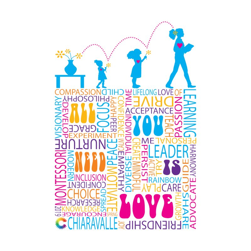 All You Need Is Love by Chiaravalle Montessori Spirit Shop