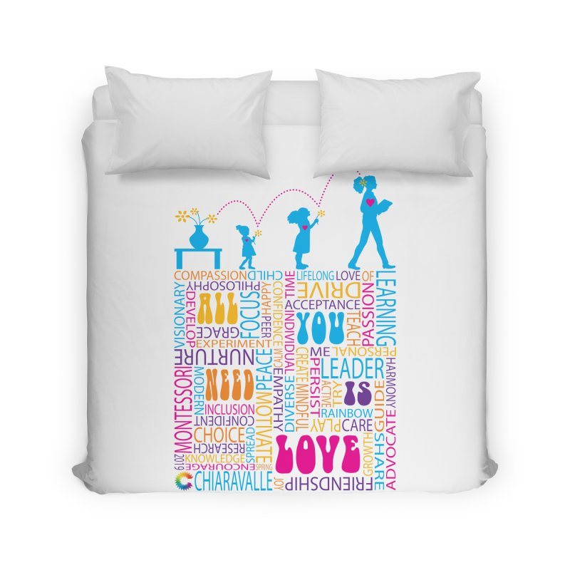 All You Need Is Love Home Duvet by Chiaravalle Montessori Spirit Shop