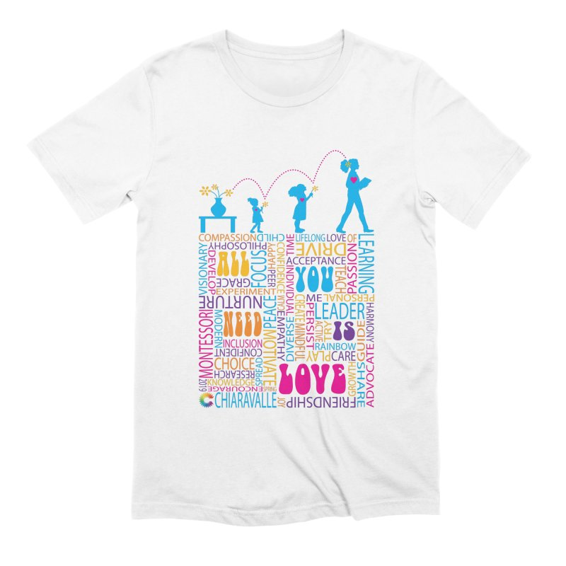 All You Need Is Love Men's Extra Soft T-Shirt by Chiaravalle Montessori Spirit Shop