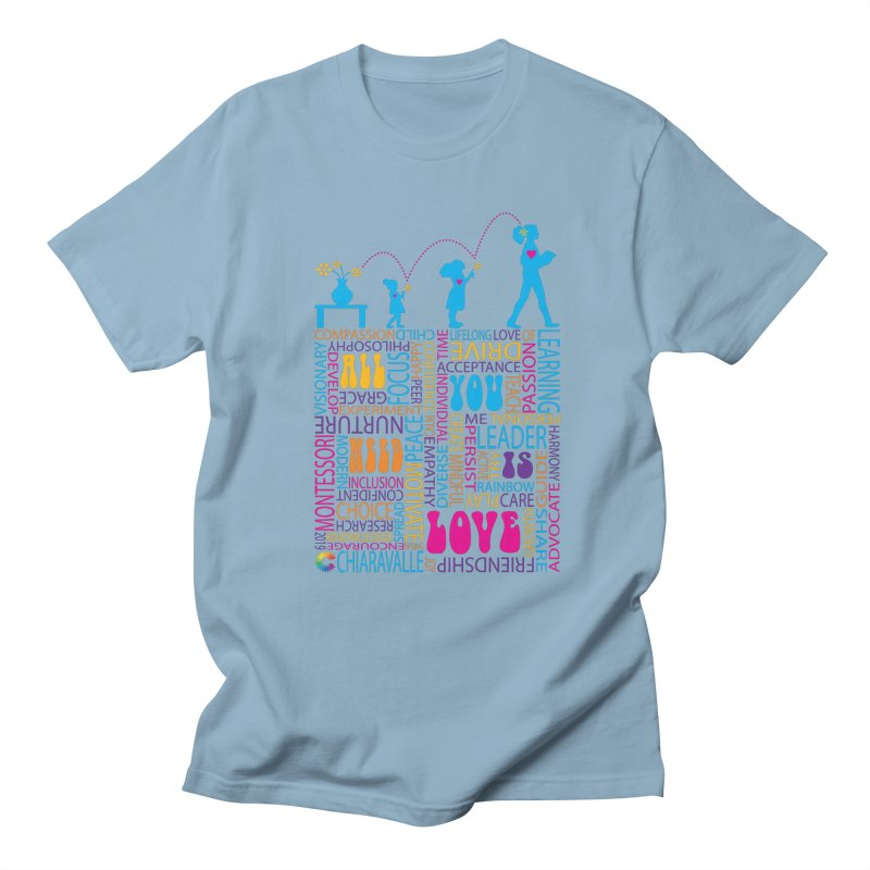 All You Need Is Love Men's Regular T-Shirt by Chiaravalle Montessori Spirit Shop