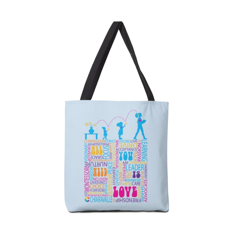 All You Need Is Love Accessories Tote Bag Bag by Chiaravalle Montessori Spirit Shop