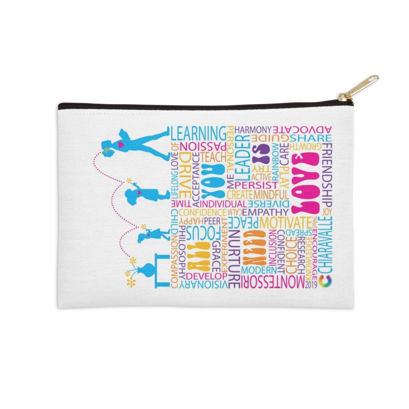 All You Need Is Love Accessories Zip Pouch by Chiaravalle Montessori Spirit Shop