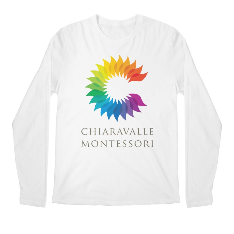Chiaravalle Montessori - Light Men's Regular Longsleeve T-Shirt by Chiaravalle Montessori Spirit Shop