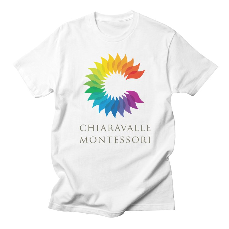 Chiaravalle Montessori - Light Men's Regular T-Shirt by Chiaravalle Montessori Spirit Shop
