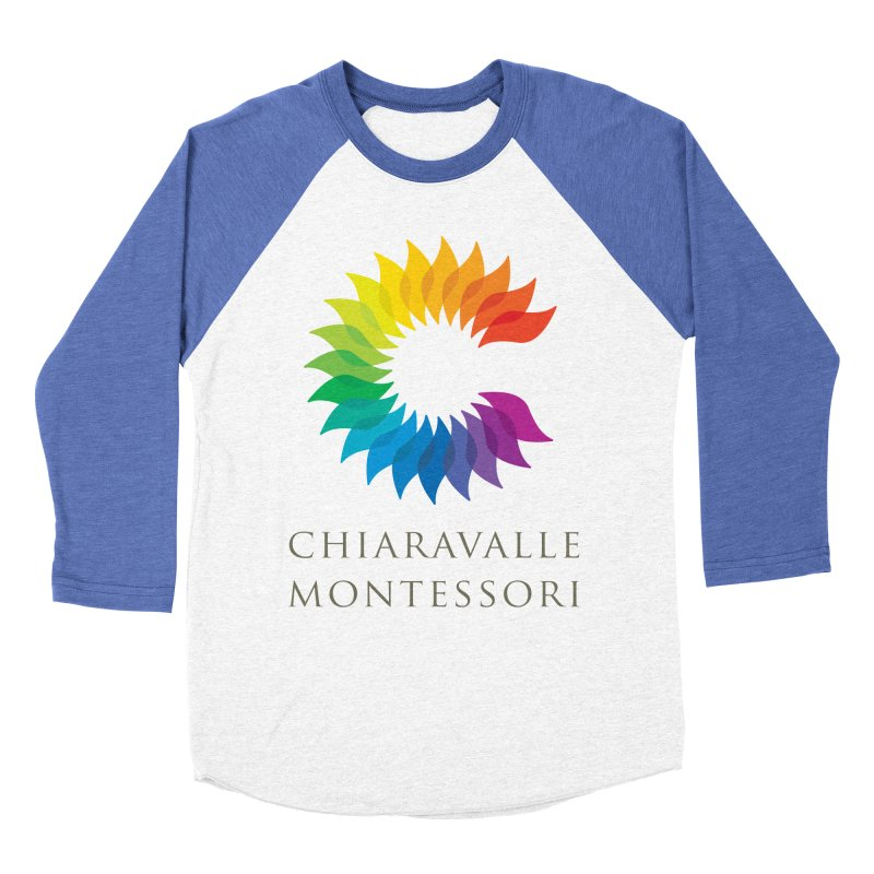 Chiaravalle Montessori - Light Women's Baseball Triblend T-Shirt by Chiaravalle Montessori Spirit Shop