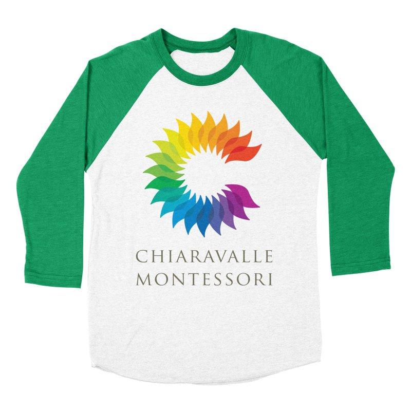 Chiaravalle Montessori - Light Women's Baseball Triblend Longsleeve T-Shirt by Chiaravalle Montessori Spirit Shop