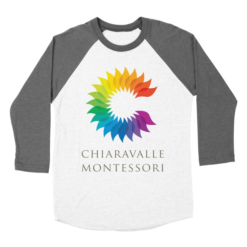Chiaravalle Montessori - Light Men's Baseball Triblend Longsleeve T-Shirt by Chiaravalle Montessori Spirit Shop