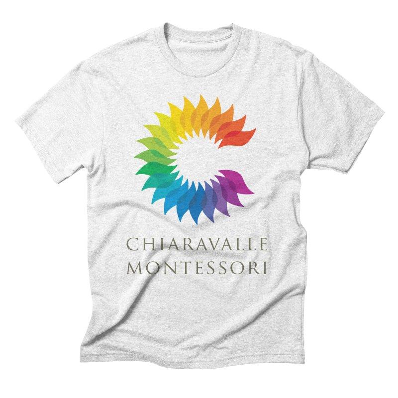Chiaravalle Montessori - Light Men's Triblend T-shirt by Chiaravalle Montessori Spirit Shop