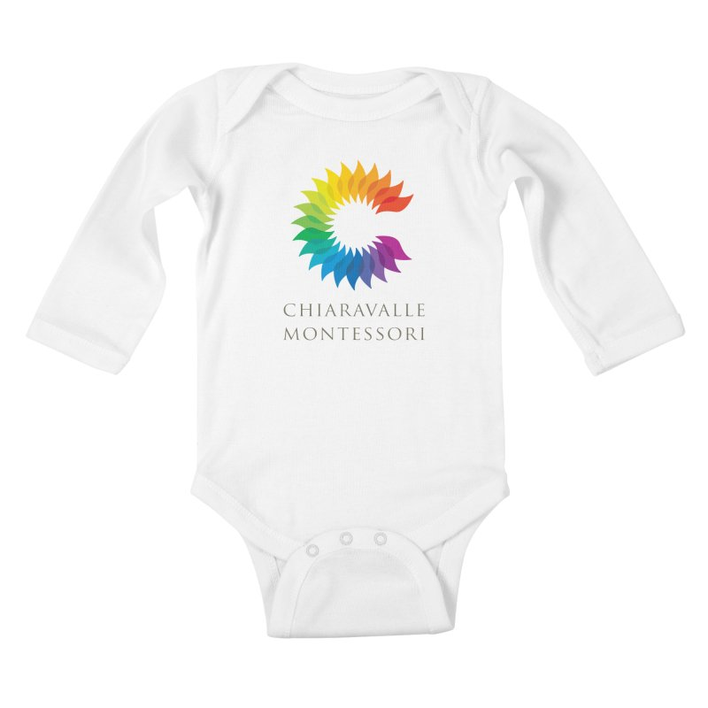 Chiaravalle Montessori - Light Kids Baby Longsleeve Bodysuit by Chiaravalle Montessori Spirit Shop