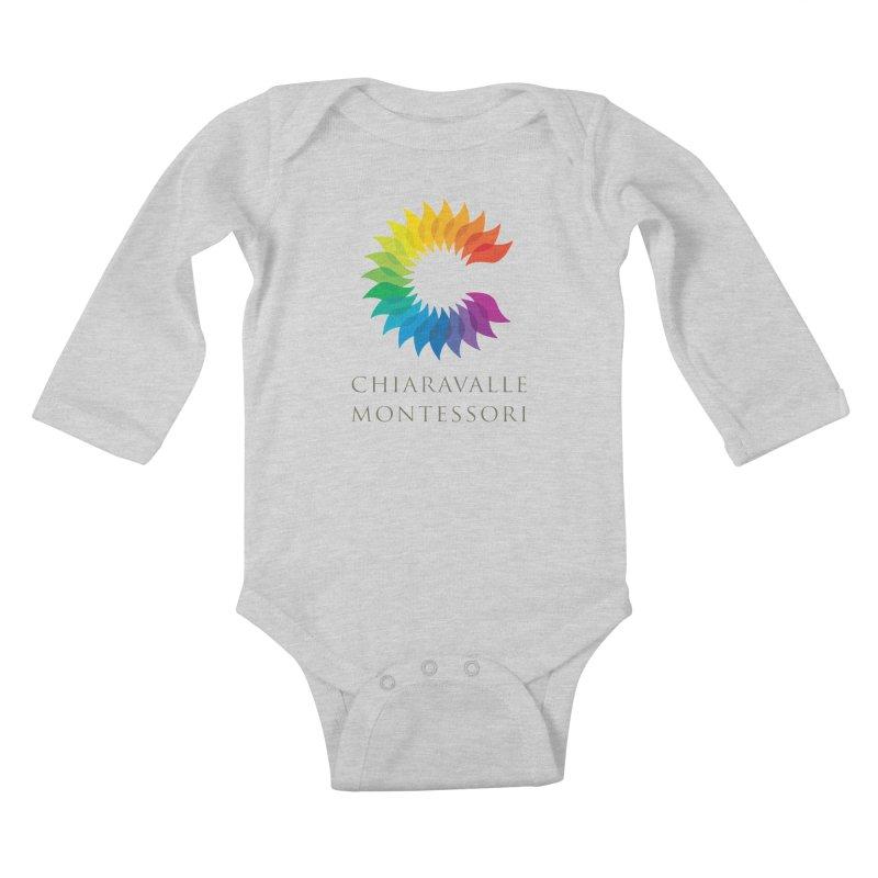 Chiaravalle Montessori - Light Kids Baby Longsleeve Bodysuit by Chiaravalle Montessori Spirit Shop