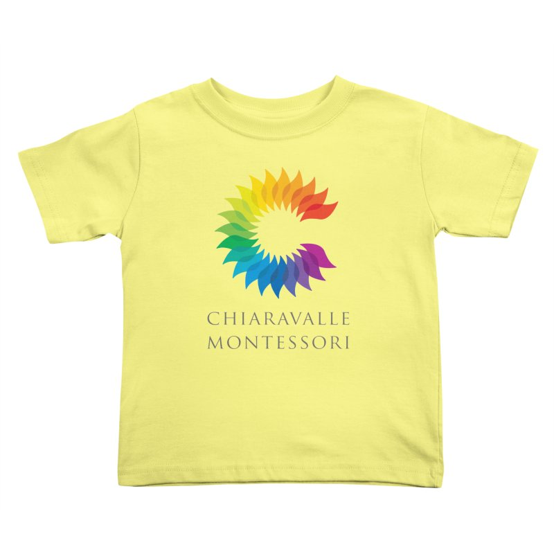 Chiaravalle Montessori - Light Kids Toddler T-Shirt by Chiaravalle Montessori Spirit Shop
