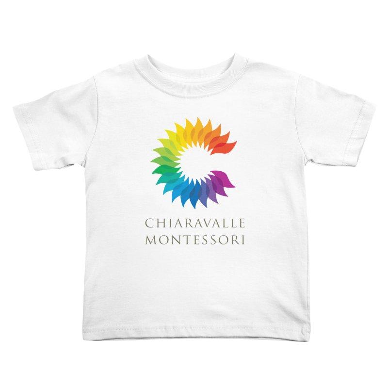 Chiaravalle Montessori - Light Kids Toddler T-Shirt by Chiaravalle Montessori Spirit Shop