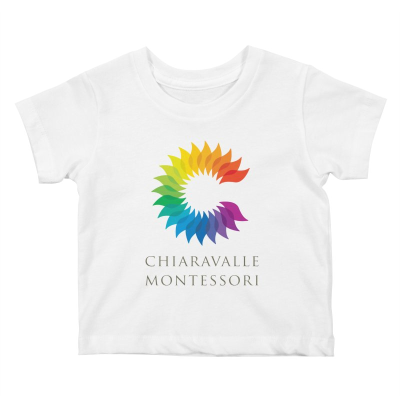 Chiaravalle Montessori - Light Kids Baby T-Shirt by Chiaravalle Montessori Spirit Shop