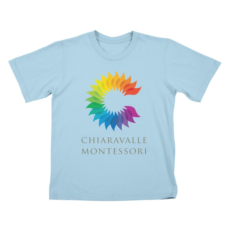 Chiaravalle Montessori - Light Kids T-Shirt by Chiaravalle Montessori Spirit Shop
