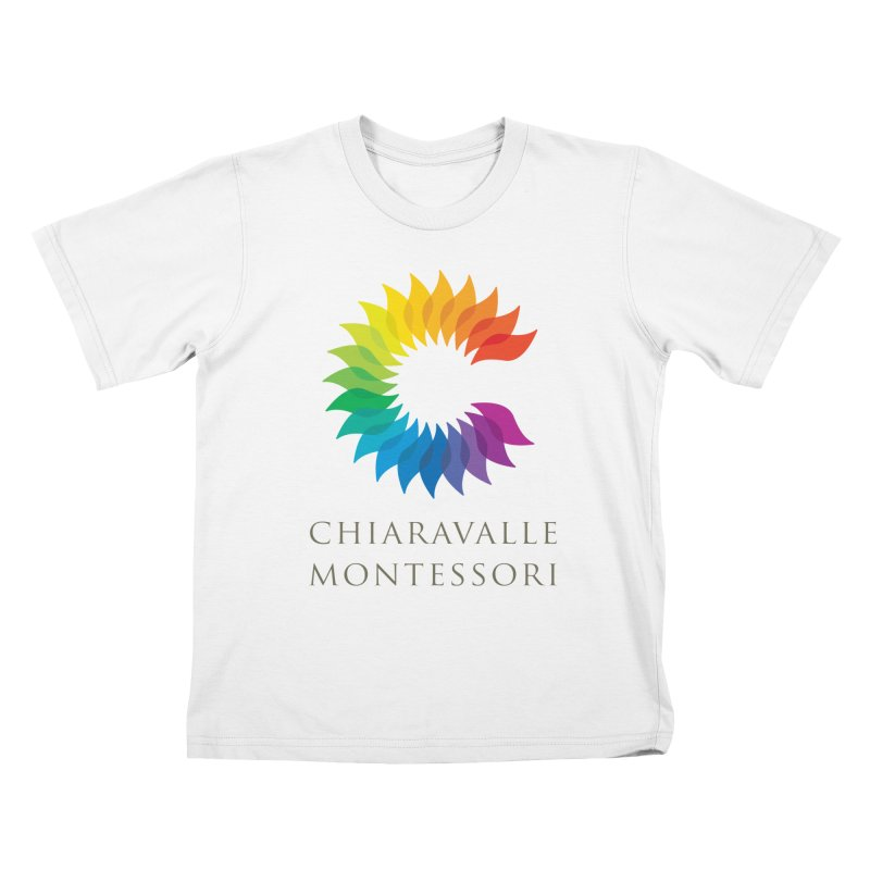 Chiaravalle Montessori - Light Kids T-Shirt by Chiaravalle Montessori Spirit Shop